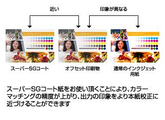 プルーフ用紙(スーパーSGコート紙)