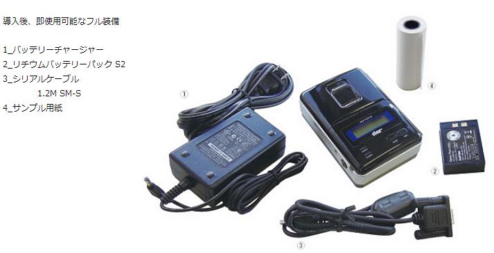 SM-S200シリーズの標準添付品