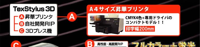 昇華プリンタ A4サイズ