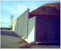 コンクリート擁壁 使用用途