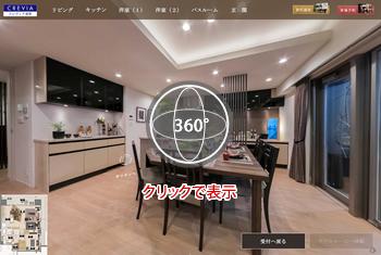360度パノラマ:不動産物件のご紹介