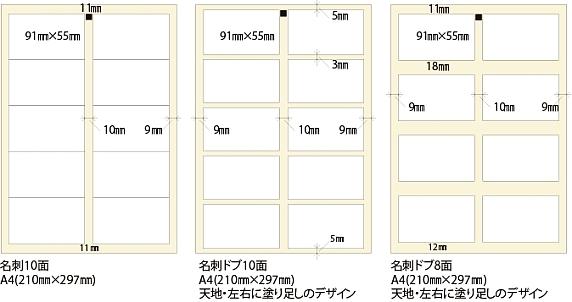 標準カットパターン