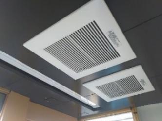 基準値をクリアできる容量の換気設備