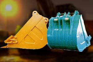 油圧ショベル用バケット(アタッチメント)