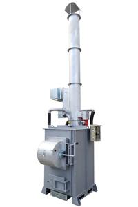 廃プラ・木材・紙用小型焼却炉耐火材式 SPII400
