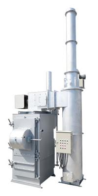 廃プラ・木材・紙用小型焼却炉水冷式 ISG600