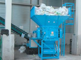 破袋機 容器包装リサイクル対応