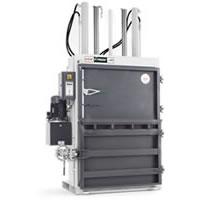 軟・硬質プラスチック、古着、ウエス用 強力圧縮梱包機