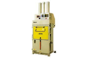 小型圧縮梱包機 (手動結束タイプ)