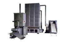 電熱式 発泡スチロール溶融機(120kg/時)