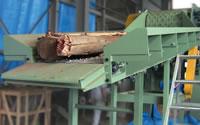 発電用 切削チップ製造機 (ドラムチッパー式)