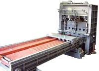 チタン加工機 自動溶断シャー