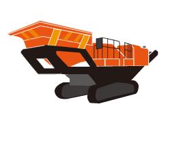コンクリートガラ・岩石 破砕機(レンタル) メトロトラック900HA