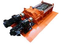 産廃用 二軸破砕機 中型機(60馬力)