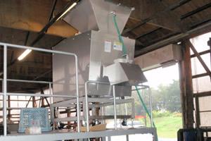 食品リサイクル粉砕機
