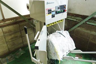 圧縮梱包機