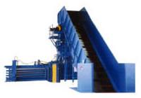 産廃用自動圧縮梱包機 マルチベーラーFMB-50