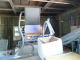 老朽化した石膏ボード分離機をメンテナンス体制が整った機械に入れ替え