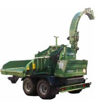 発電用 木材チップ製造機(小型・中型・大型) 50~60m<sup>3</sup>/h