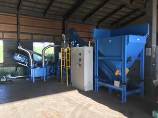 排出元の要望に応え、RPF製造を開始。収集から最終処理までマニフェストを自社で完結。