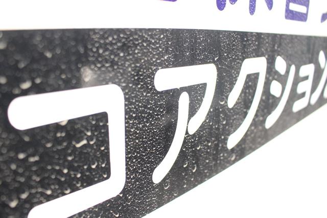 洗車前の側面