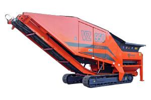 自走式 二軸破砕機 ARJES(アリエス)VZシリーズ