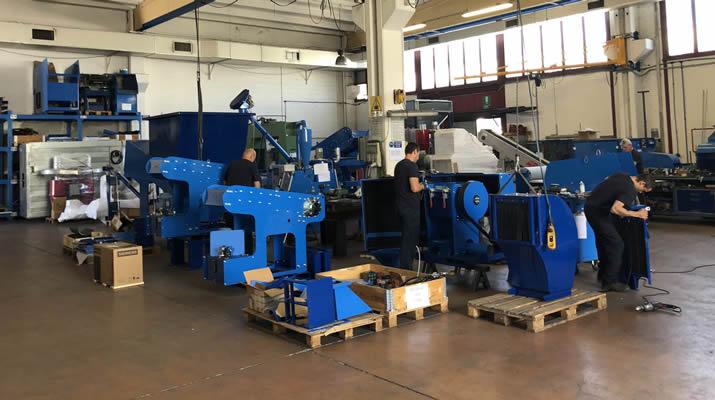 銅線リサイクルの環境が変化するなかで、新製品を探してイタリアへ
