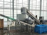 最先端テクノロジーで運営される循環型農業施設へ食品残渣 粉砕・脱水機を納入しました