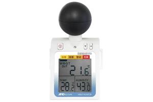 黒球付き 熱中症指数計