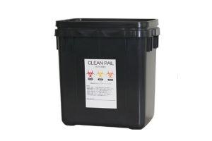 リサイクル樹脂製 感染症廃棄物処理容器クリーンペールエコ20 20L容量