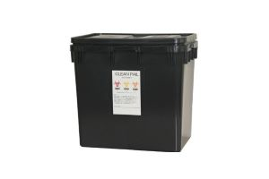 リサイクル樹脂製 感染症廃棄物処理容器クリーンペールエコ50 50L容量