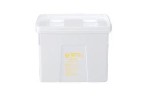 プラスチック製 感染性廃棄物処理容器メディカルペールシリーズ K#40-N 容量40L