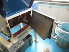 一軸破砕機「ALI-mini」スクリーン
