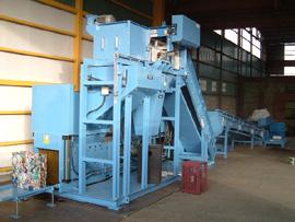 大型プレス機を採用した処理能力1000kg/hタイプ