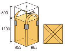 角型フレコンバッグ