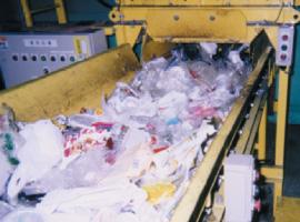 破袋後の容器包装プラ