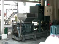 中身入り缶処理機・設置例3