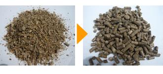 木くず(含水率18%・針葉樹) φ6mm