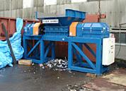 廃プラスチック破砕機