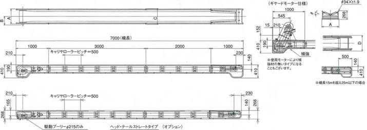 舟底型受板式