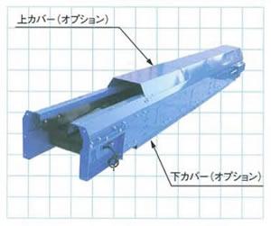 SW舟底型2点キャリアローラー式