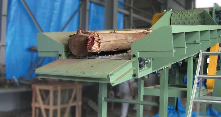 木質チップ製造機