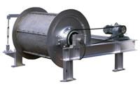 電磁式 ドラム型磁選機