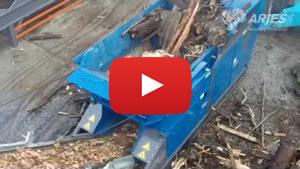 木材の破砕
