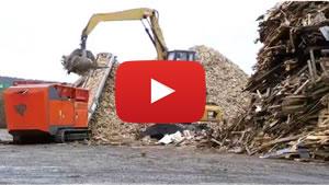 廃木材の破砕