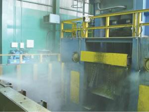 金属リサイクル工場(シャーリング出口)