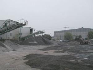 道路・建築廃材リサイクル工場