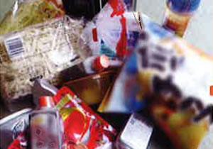 包装済み製造ロス品