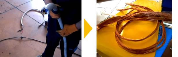 銅線 剥線機 TECNO ECOLOGY