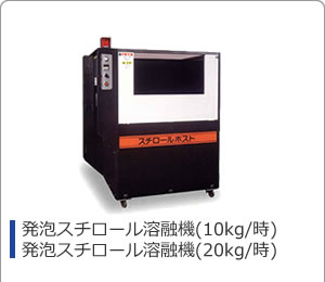 PE・PP・PS発泡スチロール減容機100kg/h